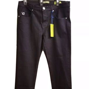 Versace Jeans Black Slim Fit Jeans NWT, 36 x 32